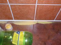 Žlutý prach a broučci v kuchyni
